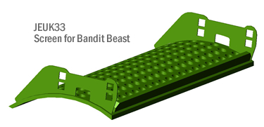Bandit Beast Screen from JEUK Parts